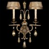<strong>Fine Art Lamps</strong> Golden Aura 2 Light Wall Sconce