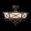 Fine Art Lamps Newport Round Semi Flush Ceiling Lighting
