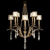 <strong>Fine Art Lamps</strong> Monte Carlo 8 Light Chandelier