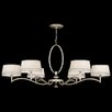 <strong>Fine Art Lamps</strong> Allegretto Gold 6 Light Chandelier