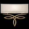 Fine Art Lamps Allegretto Gold 1Light Wall Sconce