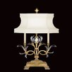 "<strong>Beveled Arcs 32"" H Table Lamp with Bell Shade</strong> by Fine Art Lamps"