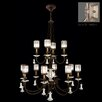 <strong>Fine Art Lamps</strong> Eaton Place 12 Light Chandelier
