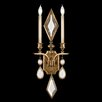 <strong>Fine Art Lamps</strong> Encased Gems 2 Light Wall Sconce