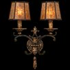 <strong>Fine Art Lamps</strong> Epicurean 2 Light Wall Sconce