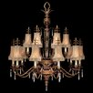<strong>Pastiche 16 Light Chandelier</strong> by Fine Art Lamps