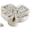 "<strong>Bosetti-Marella</strong> Ceramic Knobs 1.75"" Quatrefoil Knob"
