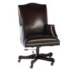 <strong>Leather Office Chair with Arms</strong> by Lazzaro Leather