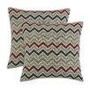 Chooty & Co Zoom Zoom Denton Fiber Pillow (Set of 2)