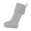 Chooty & Co Towers Ash Slub Band Christmas Stocking