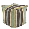 Chooty & Co Cape Cod Lagoon Square Seamed Pellet Hassock
