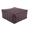 Chooty & Co Multi Stripe Seamed Beads Hassock