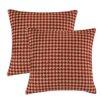 Chooty & Co Minky Hound Dog KE Fiber Pillow (Set of 2)