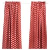Chooty & Co Ikat Dot Rod Pocket Curtain Panel