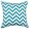Chooty & Co Zig Zag Cotton Throw Pillow (Set of 2)