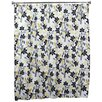 "72"" Small Talk Blackbird Shower Curtain"