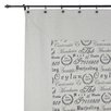 Chooty & Co Tea House Polyester Mitered Shower Curtain