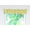Chit Chat Cotton Sleeve Topper Curtain Valance