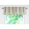"<strong>Chooty & Co</strong> Palais Rod Pocket Tailored 54"" Curtain Valance"