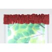 """Circa Solid Sleeve Topper 54"""" Curtain Valance"""