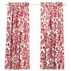 Suzani Rod Pocket Curtain Single Panel