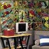 Room Mates Prepasted Marvel Classics Comic Panel Wall Mural
