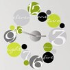 <strong>Room Mates</strong> 19 Piece Peel & Stick Clock Circle Wall Decal Set