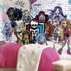 Room Mates Prepasted Monsters High XL Chair Rail Wall Mural