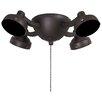 Minka Aire 4 Light Universal Ceiling Fan Light Kit