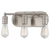 Minka Lavery Downtown Edison 3 Light Bath Vanity Light