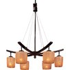 <strong>Raiden 6 Light Chandelier</strong> by Minka Lavery