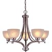 <strong>Paradox 5 Light Chandelier</strong> by Minka Lavery