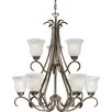 <strong>Minka Lavery</strong> Marche 9 Light Chandelier - Energy Star