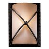 <strong>Minka Lavery</strong> Aspen 1 Light Rectangular Wall Sconce