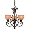 <strong>Minka Lavery</strong> Caspian 5 Light Mini Chandelier