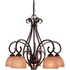 Caspian 5 Down Light Chandelier
