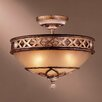 Minka Lavery Ashton Court 3 Light Semi Flush Mount