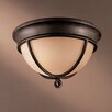 <strong>Minka Lavery</strong> Aspen II 2 Light Flush Mount
