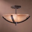 <strong>Minka Lavery</strong> Raiden 2 Light Semi Flush Mount