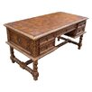 Colonial Solomon Writing Desk