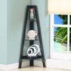 """InRoom Designs 43"""" Corner Bookcase"""