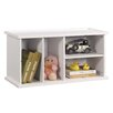 "InRoom Designs Stackable 18"" Bookcase"