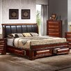 InRoom Designs Queen Sleigh Bed