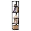 """<strong>InRoom Designs</strong> 64"""" Corner Bookcase"""
