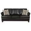 <strong>InRoom Designs</strong> Leather Sleeper Sofa