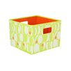 <strong>Household Essentials</strong> Geo Print Open Storage Bin