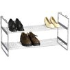 <strong>Household Essentials</strong> Storage and Organization 2 Tier Shoe Rack