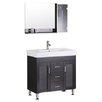 "Design Element Miami 36"" Bathroom Vanity Set with Single Sink"