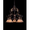 <strong>Metropolitan by Minka</strong> Zaragoza Chandelier in Golden Bronze
