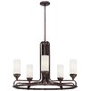 <strong>Metropolitan by Minka</strong> Industrial 5 Light Chandelier